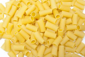 Dried rigatoni pasta